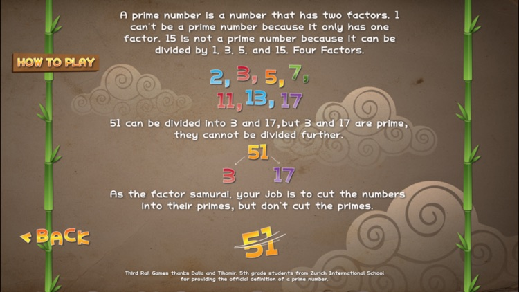 Factor Samurai - Multiply and Divide your way to Times Tables Mastery