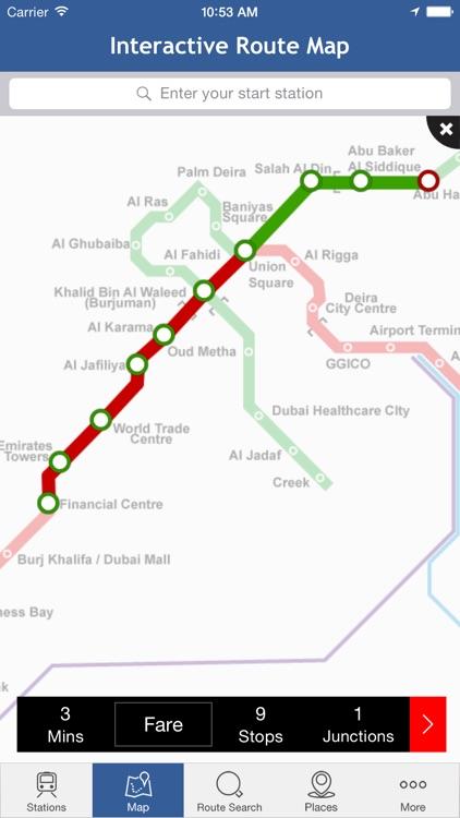 Dubai-Metro screenshot-4