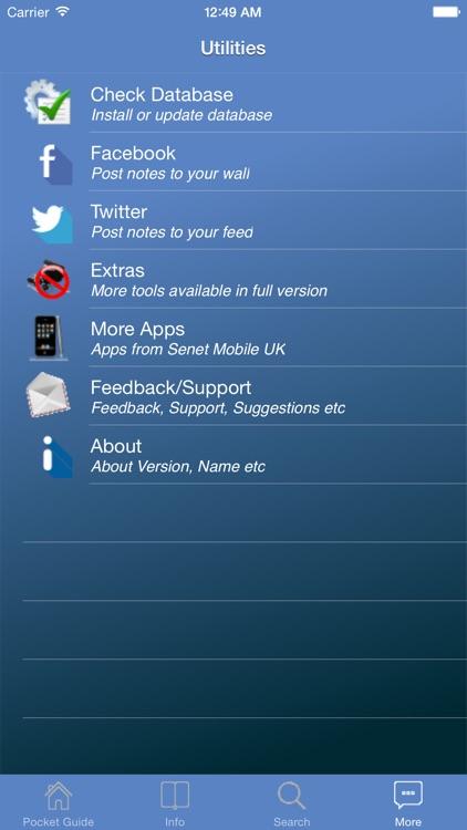 Pocket Guide UK Sea Fishing Lite screenshot-4