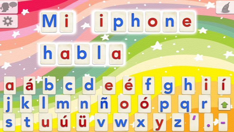 Spanish Word Wizard : Spanish Talking Movable Alphabet with Spell Check + Spelling Tests screenshot-0