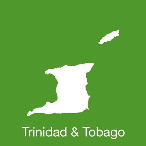 Trinidad Tobago GPS Map