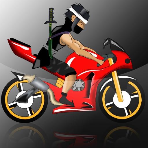 Crazy Ninja Bike Race Madness Pro - best road racing arcade game icon