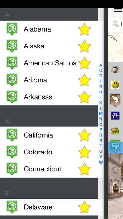 USA States & Cities Visited - My Footprint Pro screenshot-3
