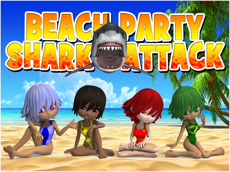 Beach Party Shark Attack HD