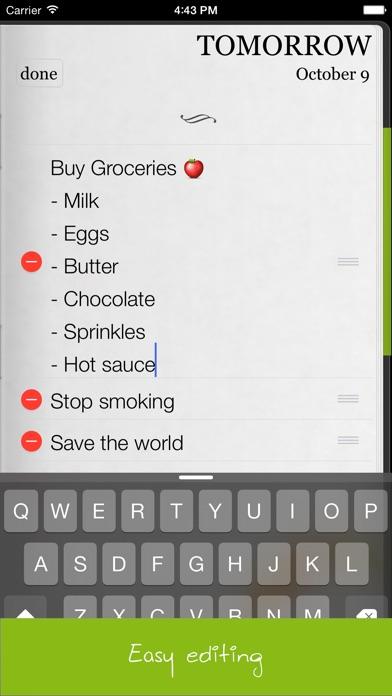 Do It (tomorrow) review screenshots