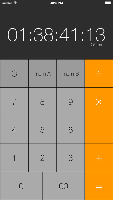 Simple Timecode Calculatorのおすすめ画像1