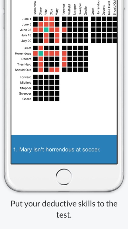 Logic Grid Puzzles - Word Games For Brain Training