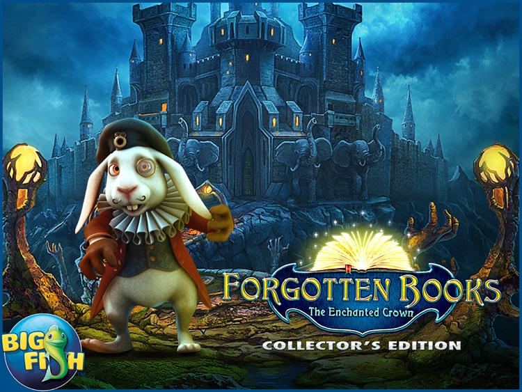 Forgotten Books: The Enchanted Crown HD - A Hidden Object Story Adventure screenshot-4