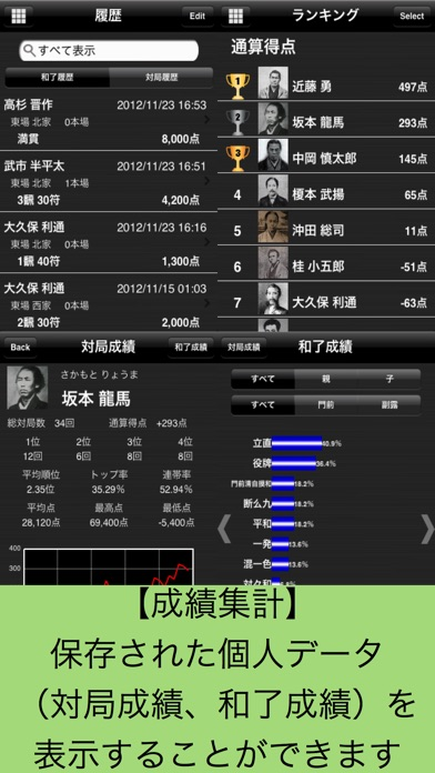 麻雀手帳 screenshot1