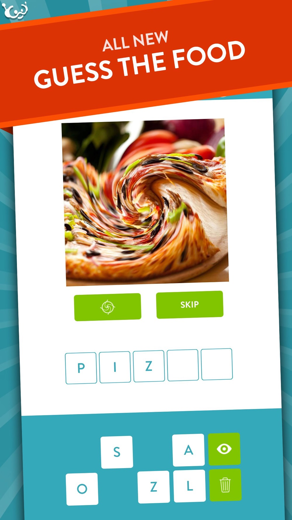 Swoosh! Guess The Food Quiz Game With a Twist – New Free Word Game by Wubu