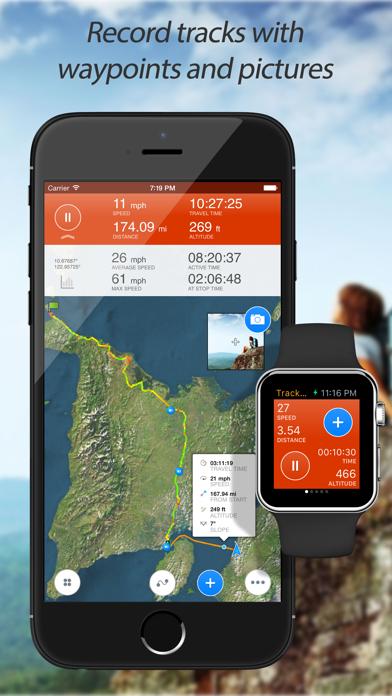 Track Kit - GPS Tracker with offline mapsのおすすめ画像1