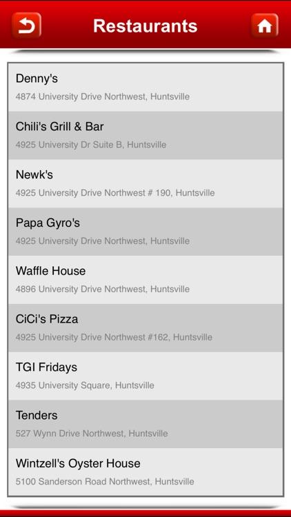 Great App for Denny's Restaurants screenshot-4