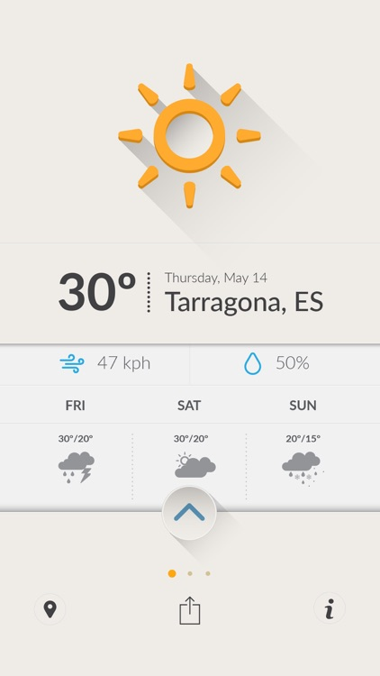 Cool Weather - Optimistic Weather Forecasts screenshot-3