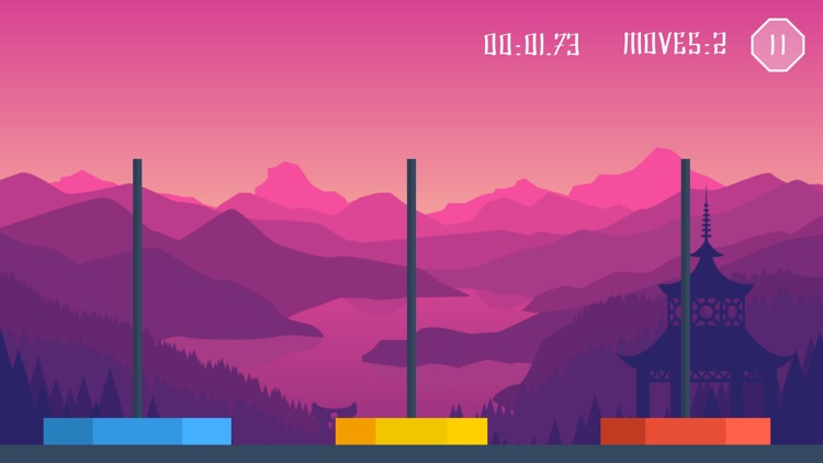 Towers of Hanoi - Classic Brain Puzzle Game - Also on the Apple Watch