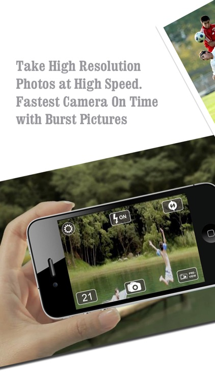 FastPix - Fastest Touch Burst Pic Cam