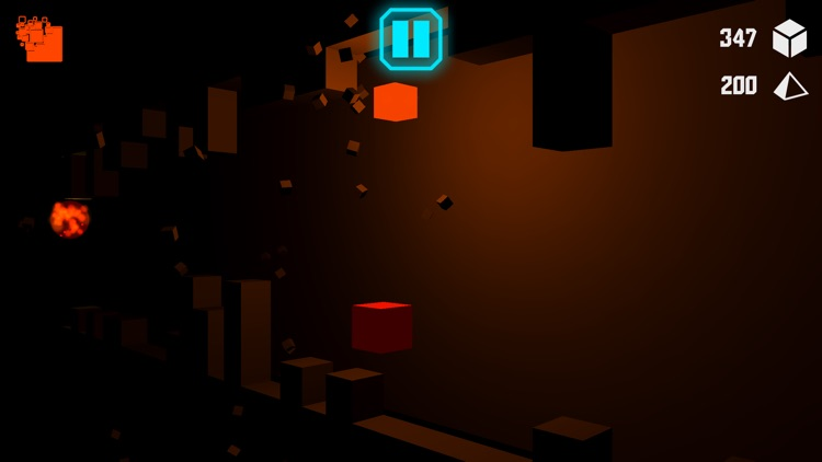 Cube Run - The Dark Building screenshot-3
