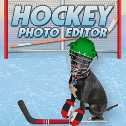 Hockey Dress Up Photo Editor - Make Fun Picture Posts to Share on Instagram, Facebook, Twitter, or email