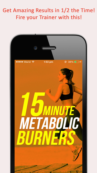 Fitgirl Metabolic Burners : 50, 15 minute weight loss workout for ladiesのおすすめ画像1