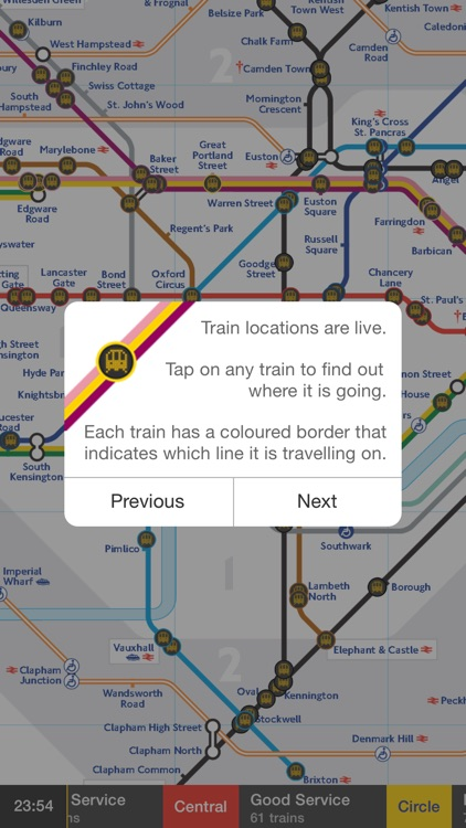 Tube Map Live screenshot-1