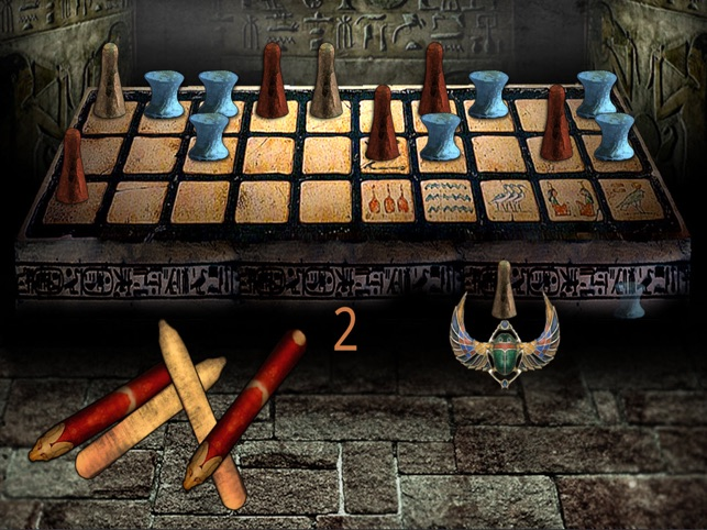 Egyptian Senet (Ancient Egypt Game Of The Pharaoh Tutankhamun-King Tut-Sa Ra) Screenshot