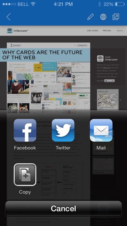 Delicious Official App screenshot-4