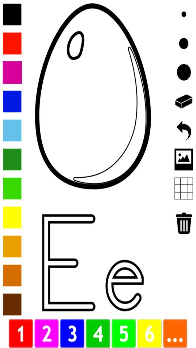 Азбука Книжка-раскраска для малышей: Учимся писать и ...