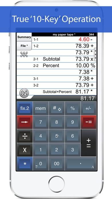 Adding Machine 10key Iphone review screenshots