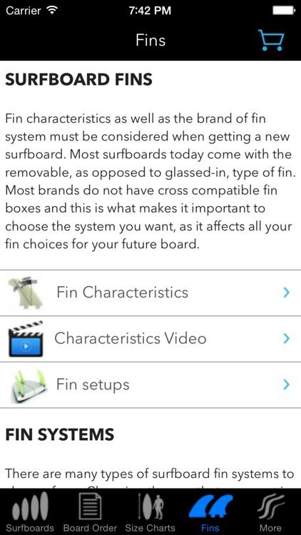 iSurfer - Surfboards Guide screenshot-3