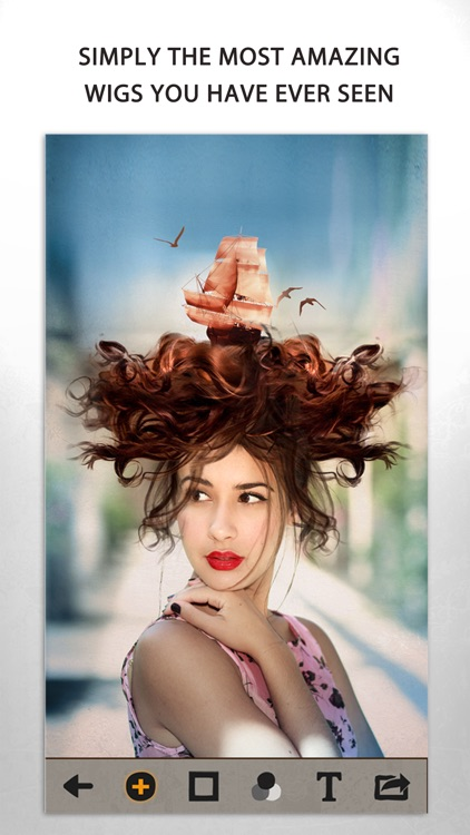 Surreal wigs Pro – Creative hairstyles to edit your photos screenshot-1