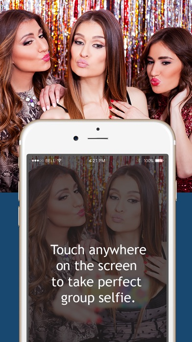 download Selfie Assistant - Take voice guided group selfies with back camera apps 2