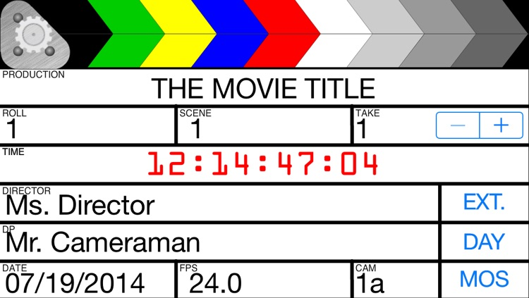 Grat's Film Slate/Clapboard screenshot-1