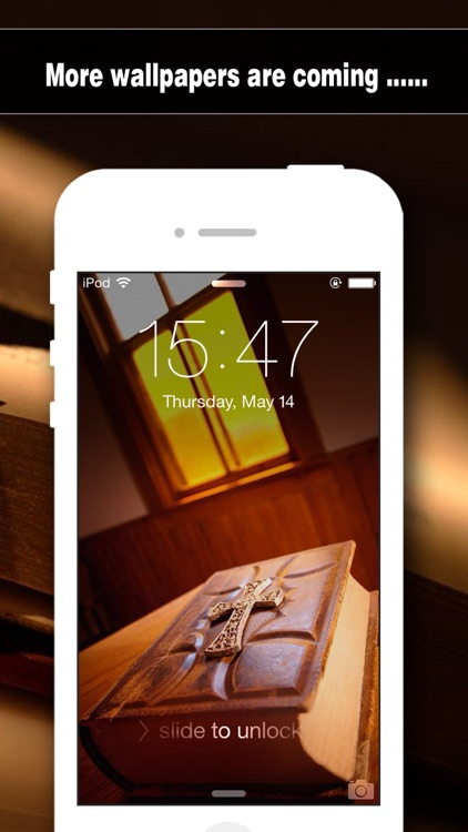 Bible Wallpapers Pro - Backgrounds & Lock Screen Maker with Holy Retina Themes for iOS 8 & iPhone 6 screenshot-4