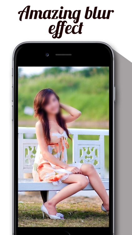 Blur Effect Photo Filter - Hide My Face & Censor Camera Fx For Instagram screenshot-1