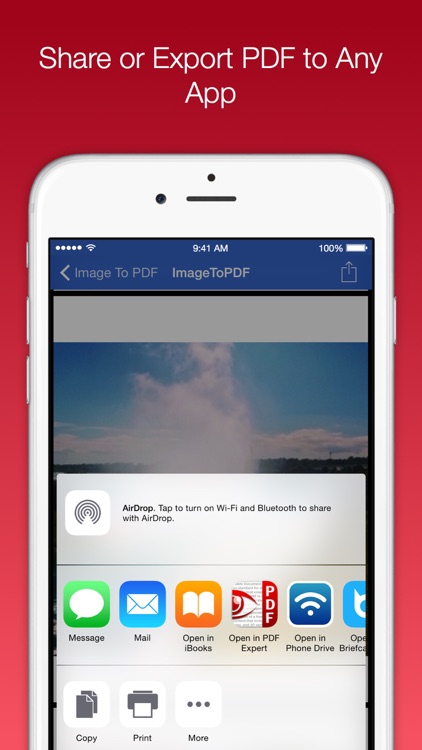 Image To PDF Converter Pro - Convert jpg, png images to PDF document screenshot-3