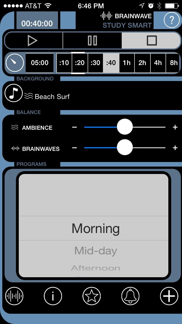 Brain Wave Study Smart - Advanced Binaural Brainwave Entrainment for Studying Screenshot