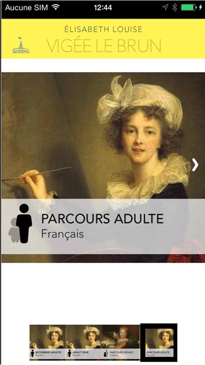 Élisabeth Vigée Le Brun, l'Application officielle de l'exposition screenshot-3
