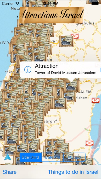 Attractions Israel