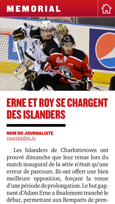 Québec Hebdo Memorial screenshot two