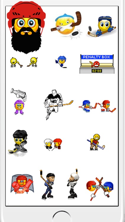 Hockey Emojis screenshot-0