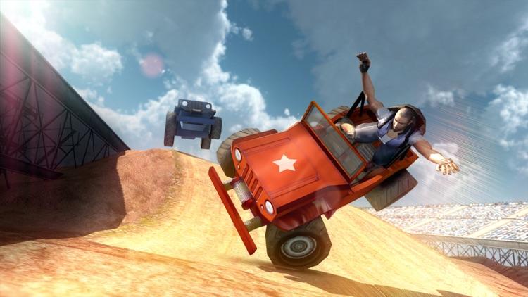 Jeep Stunt Racer Offroad 4x4 screenshot-4
