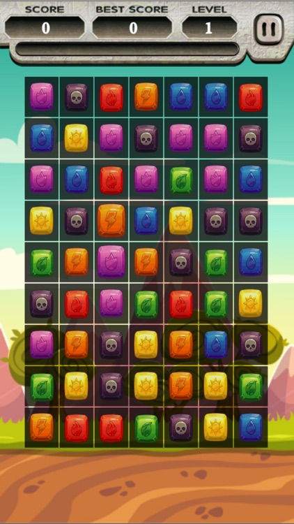 Lord Of Element Puzzle Star Saga : 2d Match 3 Mania Hd Free Game