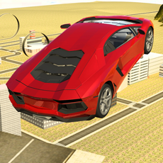 Activities of Airborne Limo Stunt Racing Game