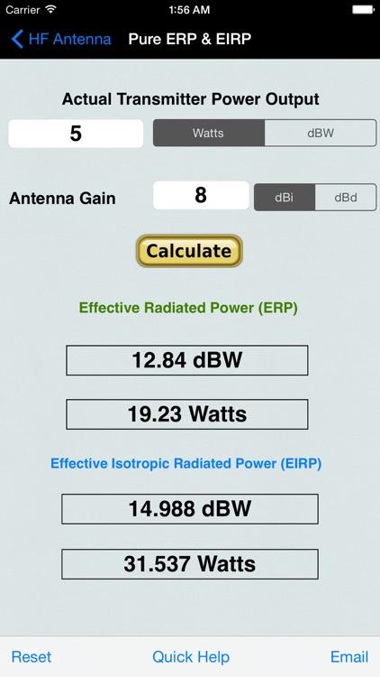 HF Beam Antenna Calculator