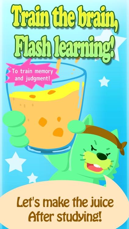 Train your brain!Flash juice