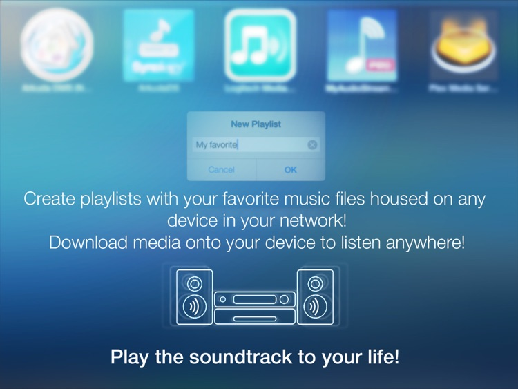 MyAudioStream HD Pro UPnP audio player and streamer for iPad screenshot-4