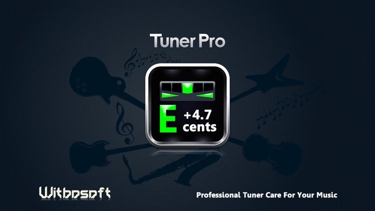 C Tuner - The accurate and easy-to-use tuner for guitar, bass, ukulele, violin and pipe screenshot-4