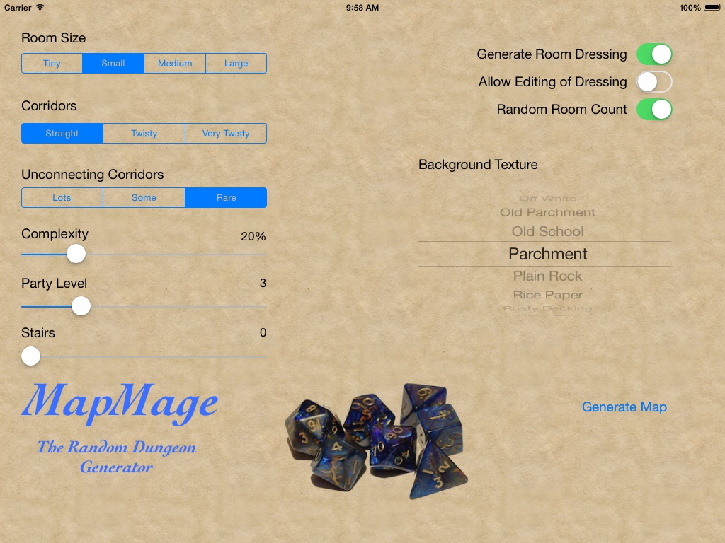 MapMage, the Random Dungeon Generator - Online Game Hack and