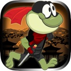 Frog Hero Jump Deluxe: Avoid the Fighting Ninjas icon