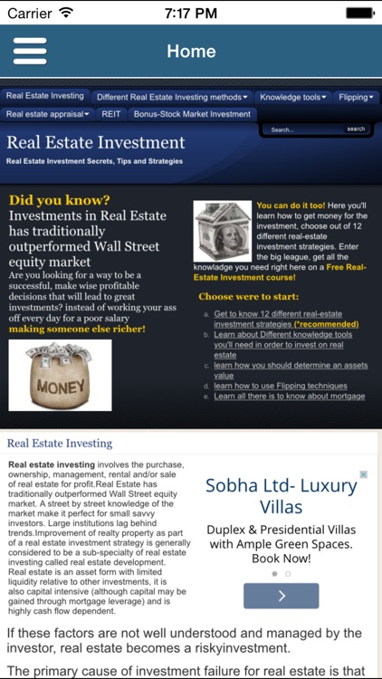 Real Estate Investment Course