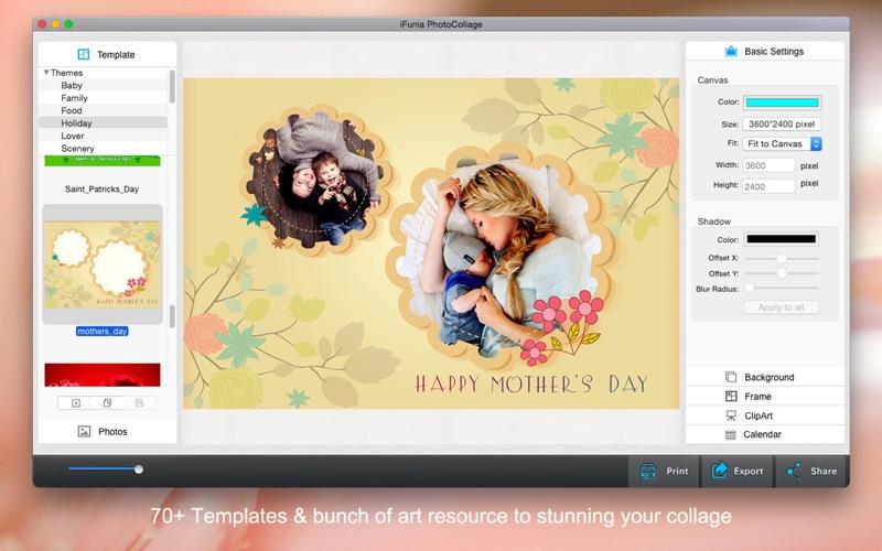 iFunia PhotoCollage Screenshot
